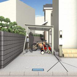 渡辺邸PLAN1パース