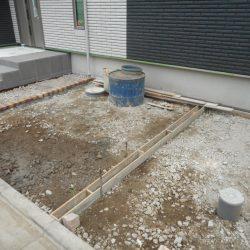 土間コンクリート型枠