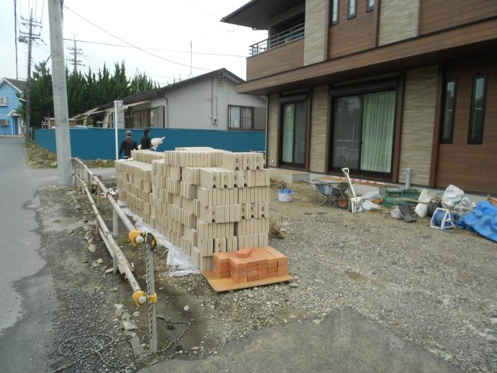 ブロック積み開始