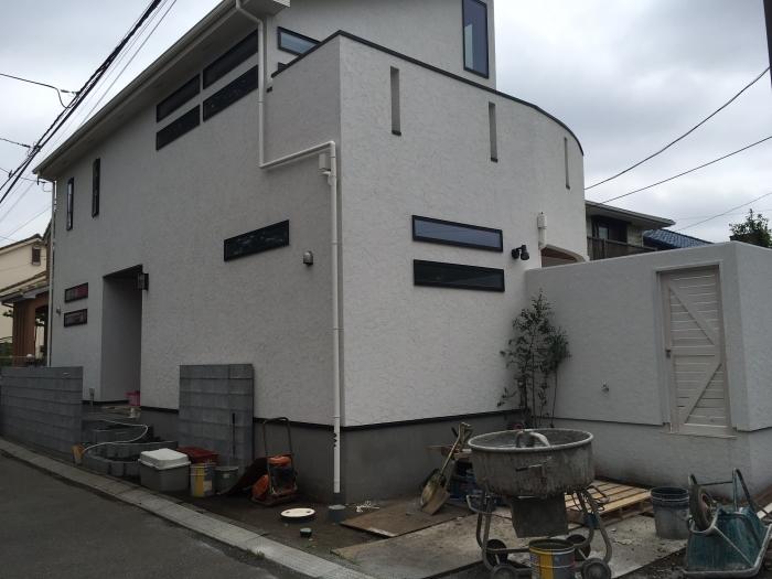 藤沢市鵠沼_新築外構工事