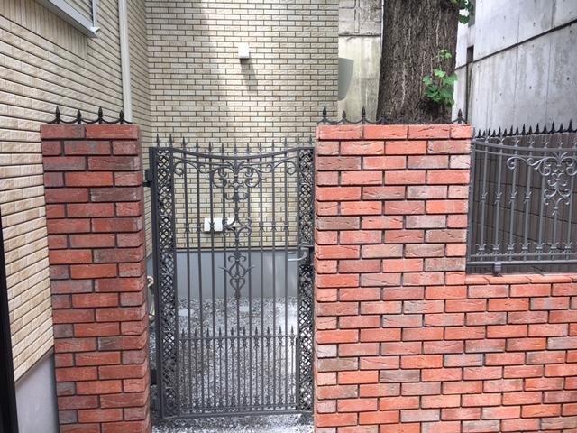 門扉とおそろい