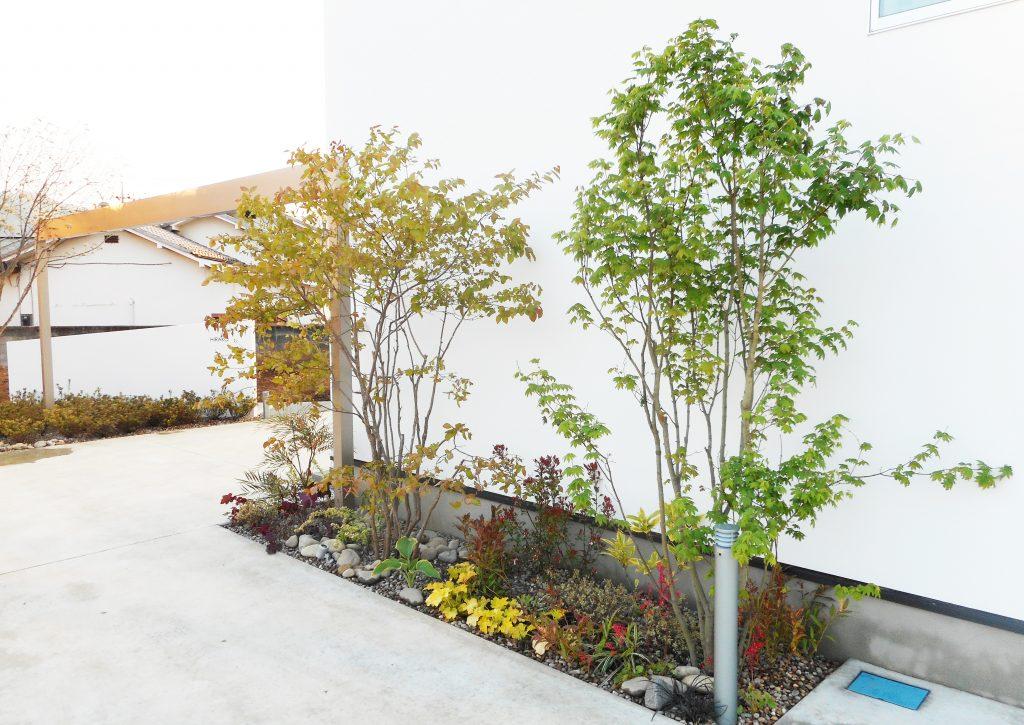 シンプルxナチュラル 雑木の庭