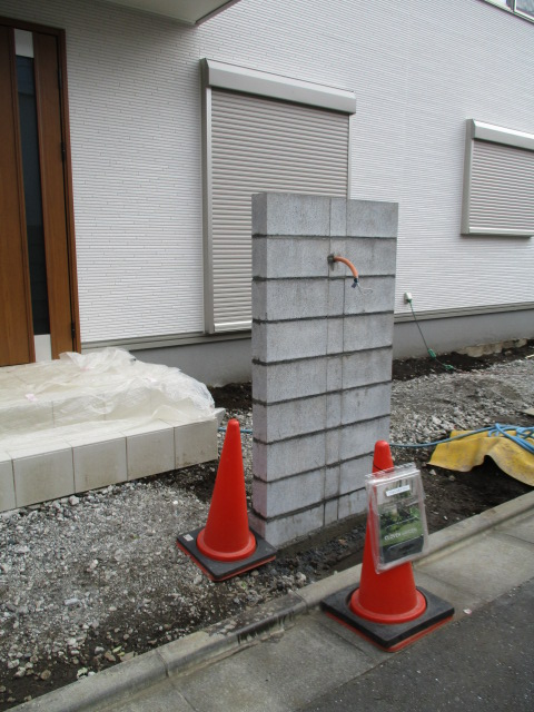門塀ブロック積み