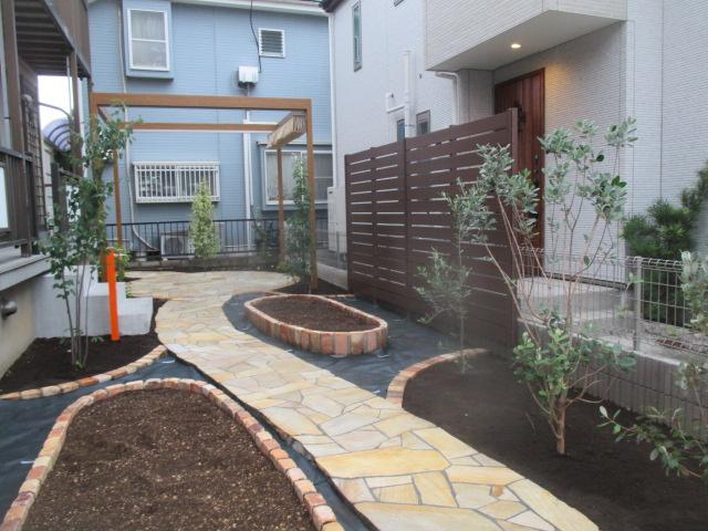 家庭菜園を楽しむ庭