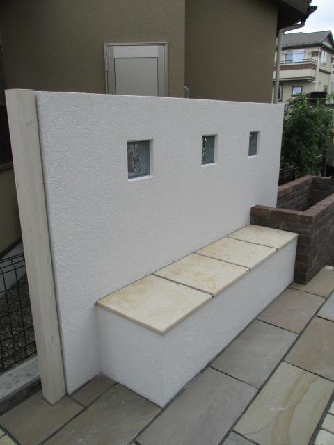 手作りベンチ 2