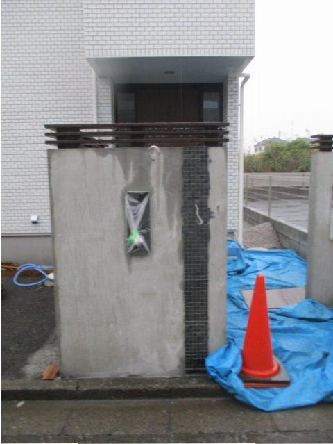デザイン門塀