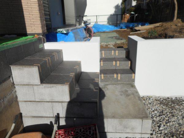新築外構工事 進捗状況 日野市