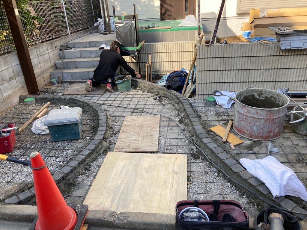 K様邸新築外構工事 大田区
